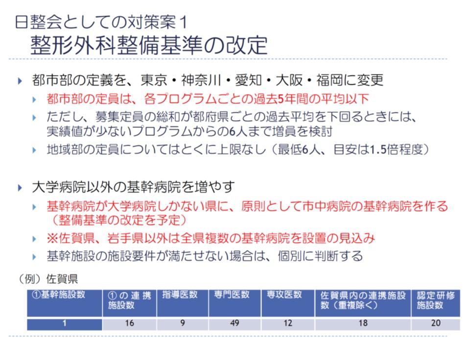 基幹施設の基準緩和などにより、岩手県・佐賀県を除き、すべての都道府県で複数の基幹施設設置の目途がたっている