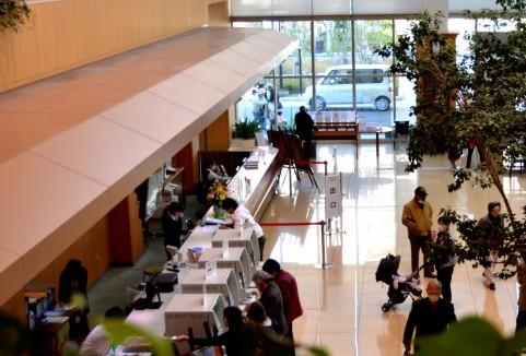 (写真3)日本の病院に当然ある会計の窓口は米国の病院には存在しない