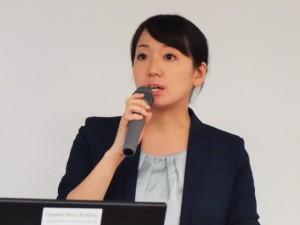 GHCコンサルタントでアソシエイトマネジャーの澤田優香