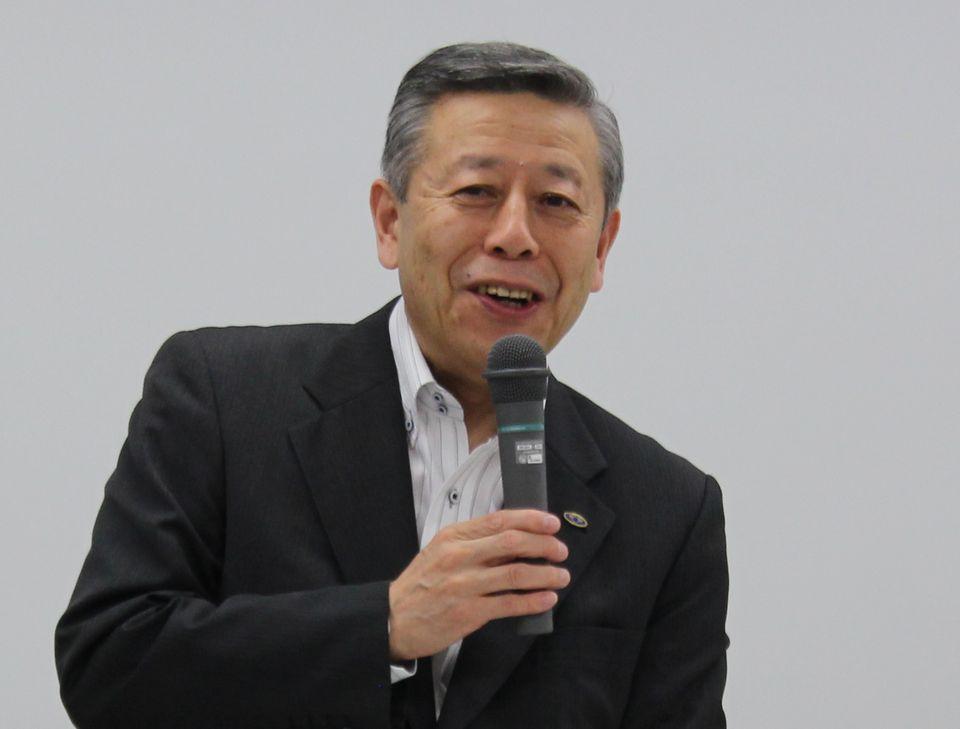 6月26日の定例記者会見に臨んだ、日本病院会の相澤孝夫会長