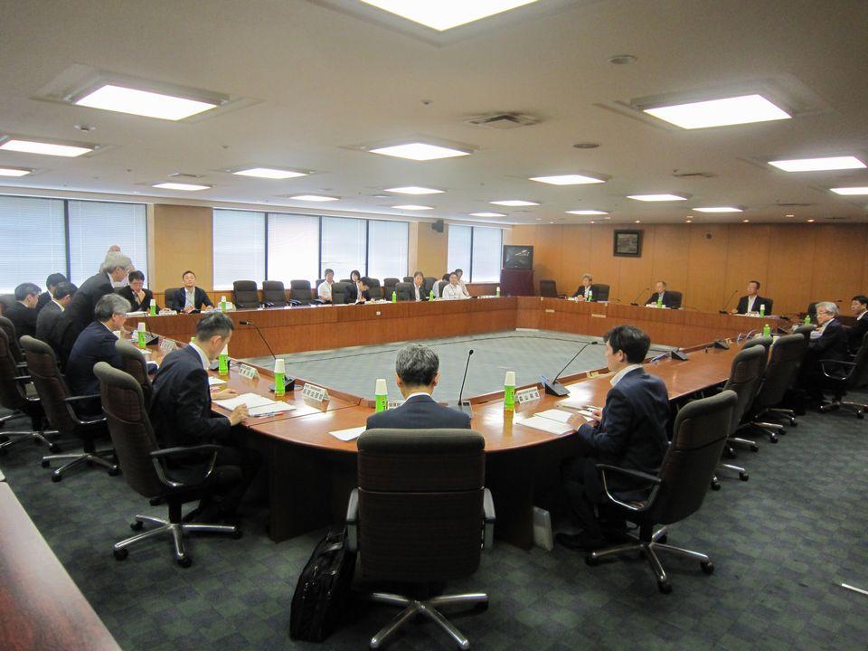 7月19日に開催された、「第7回 地域医療構想に関するワーキンググループ」