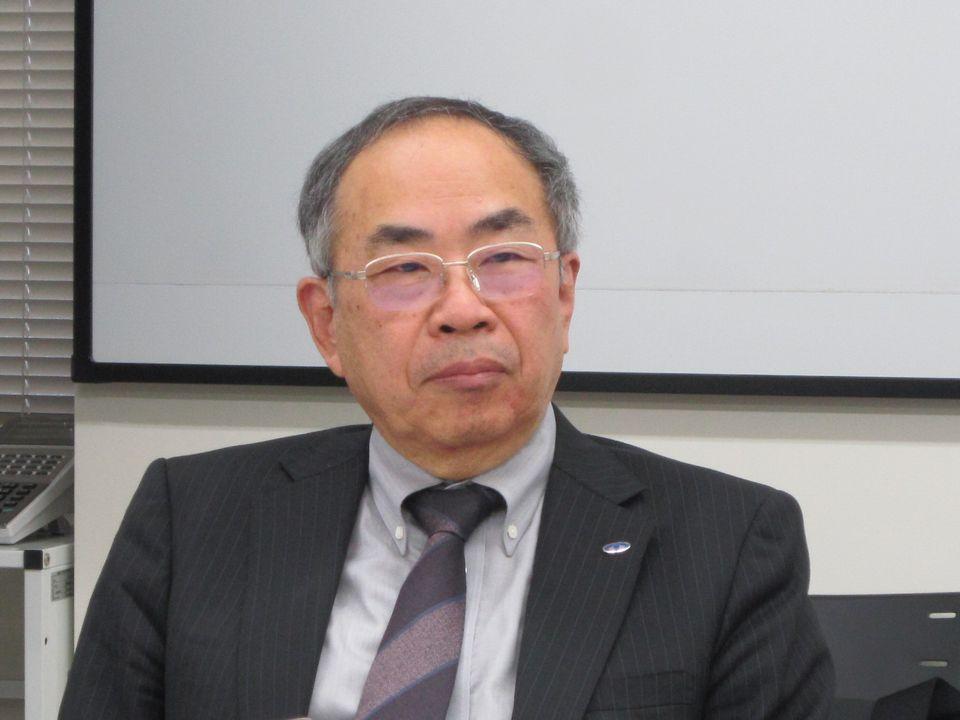 10月3日の記者会見に臨んだ、日本病院会の末永裕之副会長