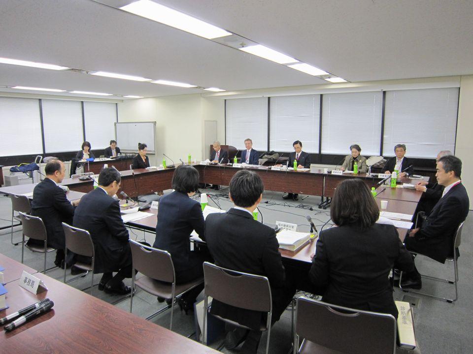10月31日に開催された、「第22回 厚生科学審議会 疾病対策部会 指定難病検討委員会」