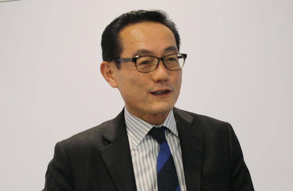Tableau社の浜田社長は、米国病院での実績を紹介した