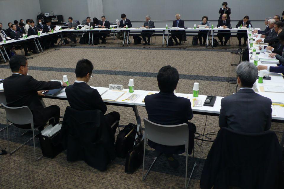 11月22日に開催された、「第152回 社会保障審議会 介護給付費分科会」