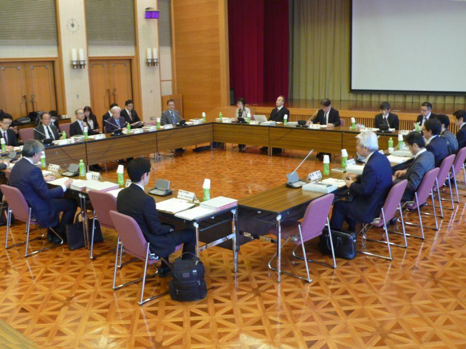 12月8日に開催された、「第5回 全国在宅医療会議ワーキンググループ」