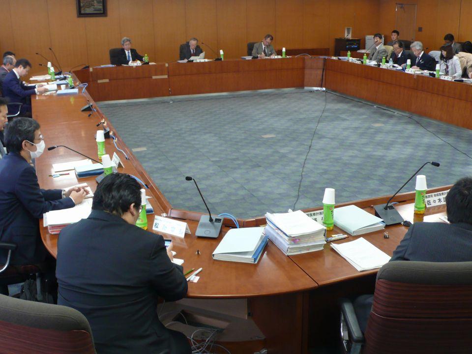 12月13日に開催された、「第10回 地域医療構想に関するワーキンググループ」