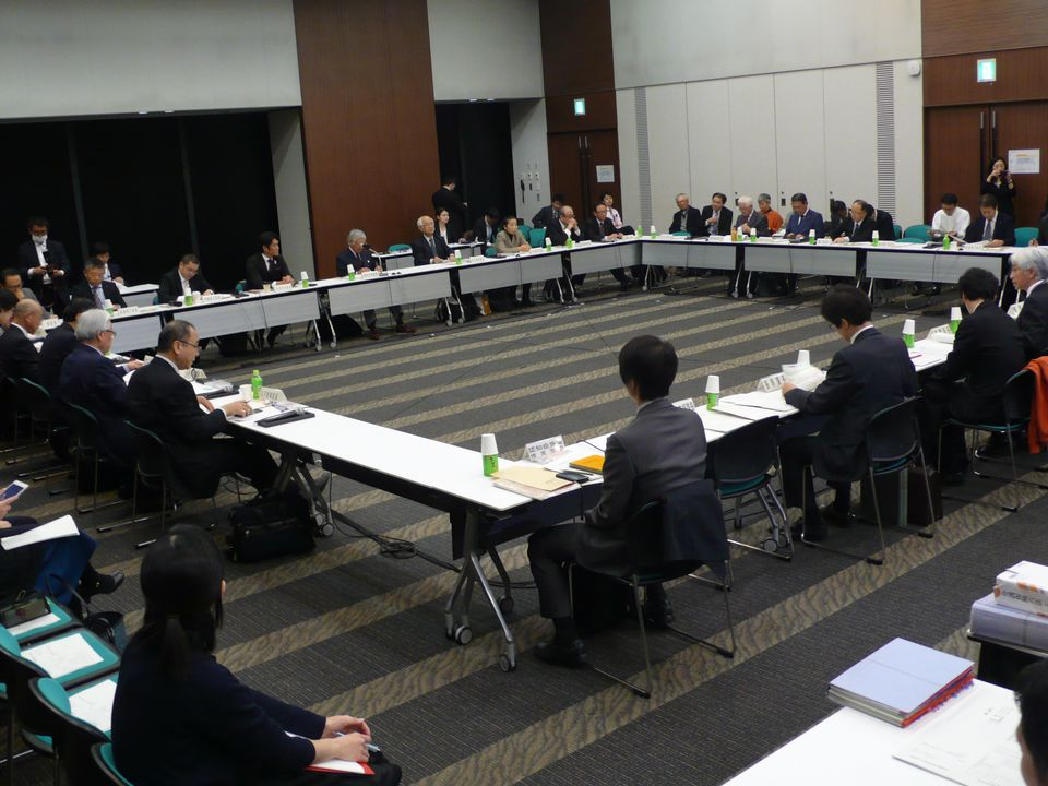 12月1日に開催された、「第154回 社会保障審議会 介護給付費分科会」
