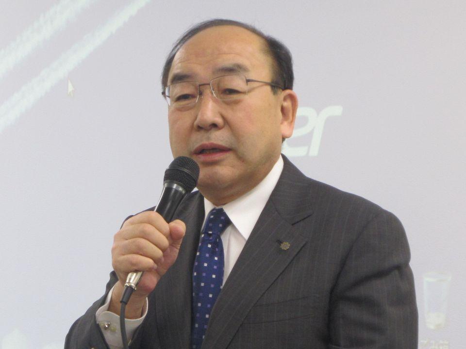 外保連の岩中督・会長(埼玉県病院事業管理者)