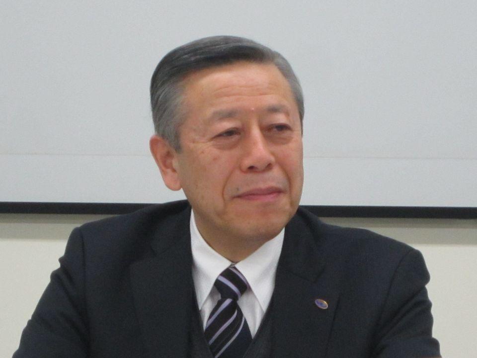 12月19日の定例記者会見に臨んだ、日本病院会の相澤孝夫会長(社会医療法人財団慈泉会相澤病院理事長)