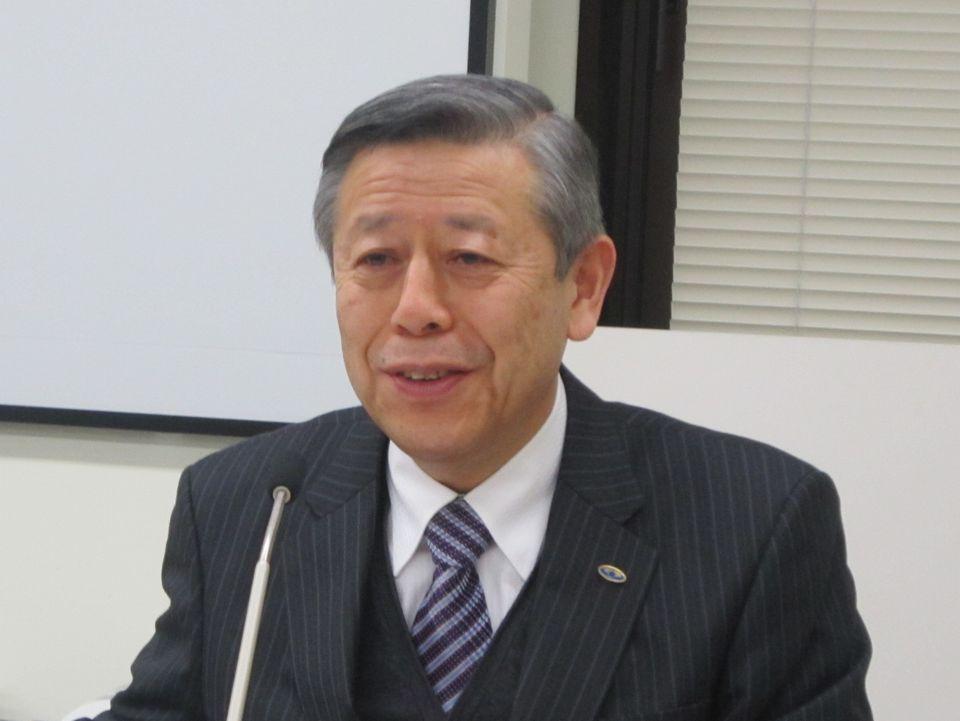 12月20日の四病院団体協議会・総合部会後に記者会見に臨んだ、日本病院会の相澤孝夫会長