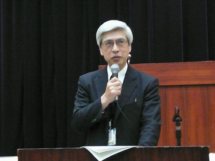 1月18日に開催された全国厚生労働関係部局長会議で厚生労働省医政局の施策について説明した、武田俊彦局長