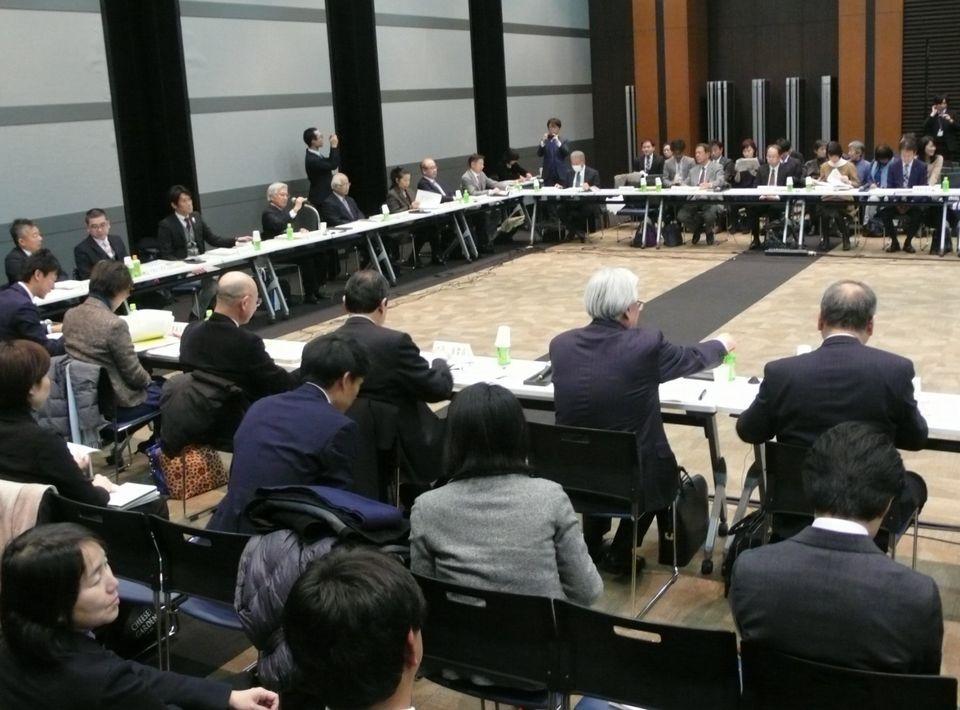 1月26日に開催された、「第158回 社会保障審議会 介護給付費分科会」