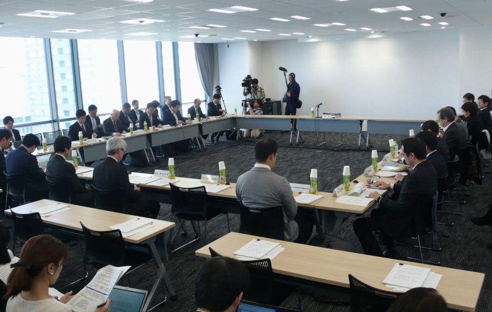 2月8日に開催された、「第1回 情報通信機器を用いた診療に関するガイドライン作成検討会」
