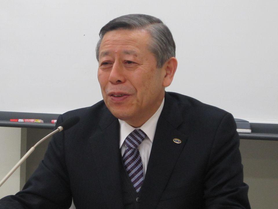 2月28日に開催された四病院団体協議会の総合部会後に、記者会見に臨んだ日本病院会の相澤孝夫会長