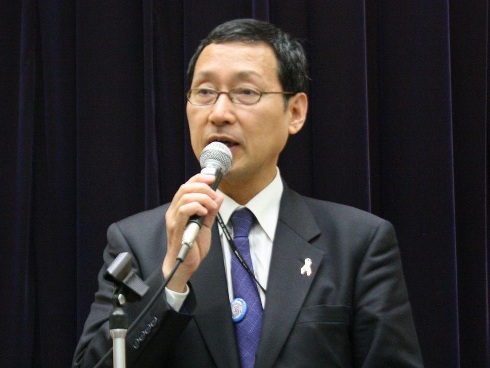 2月21日に開催された2017年度の全国健康関係主管課長会議で挨拶を行った、厚生労働省健康局の福田祐典極長