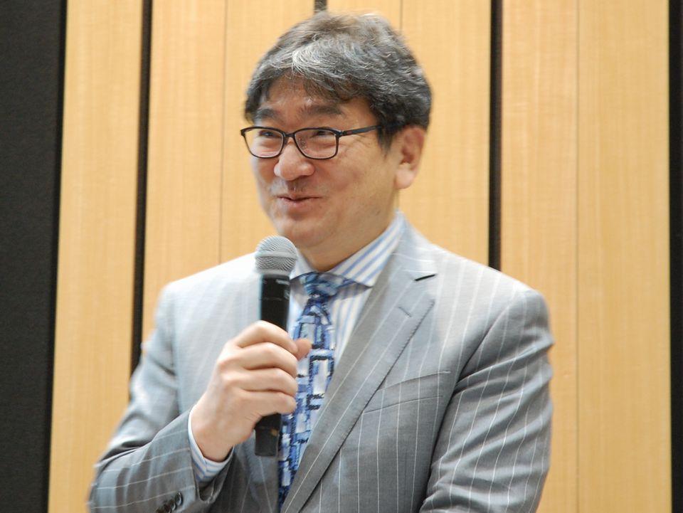 3月24日のGHC診療報酬改定セミナーに登壇された、厚生労働省保険局医療課の迫井正深課長