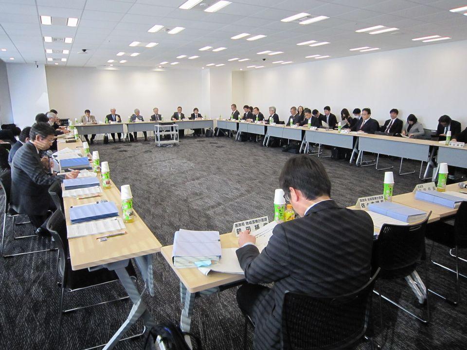 3月2日に開催された、「第11回 地域医療構想に関するワーキンググループ」「第3回 在宅医療及び医療・介護連携に関するワーキンググループ」の合同会議