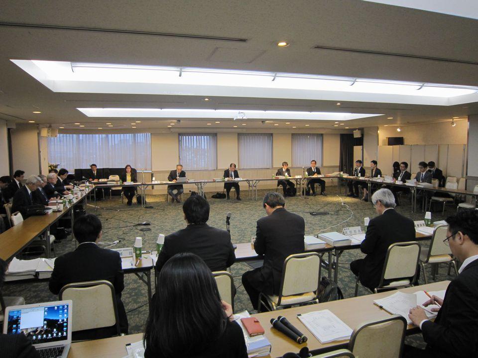 3月7日に開催された、「第6回 全国在宅医療会議ワーキンググループ」