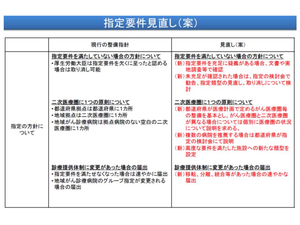指定に関する見直し項目(その2)
