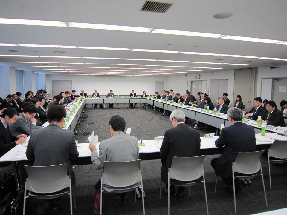 4月11日に開催された、「第61回 社会保障審議会 医療部会」