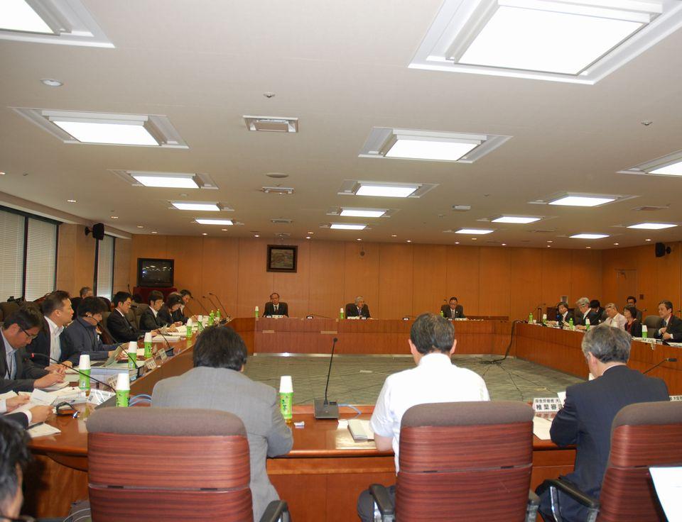 5月23日に開催された、「第4回 在宅医療及び医療・介護連携に関するワーキンググループ」