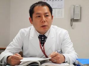 患者支援センター相談業務担当の医療ソーシャルワーカーの福田雄大氏