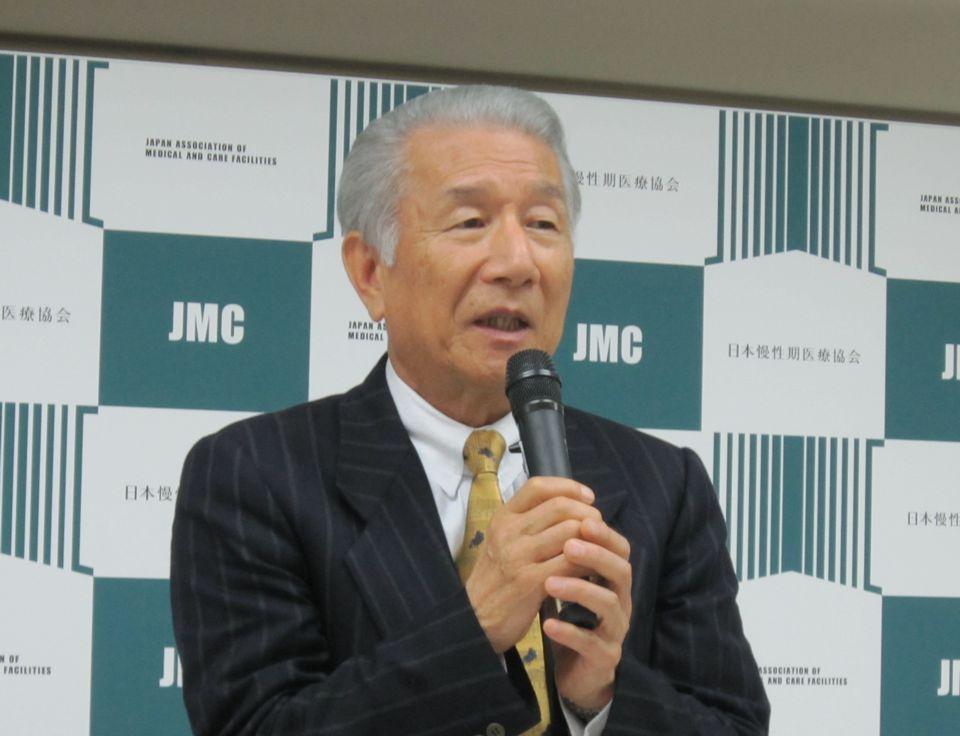 6月21日に開催された日慢協の通常総会で、会長に再任された武久洋三氏