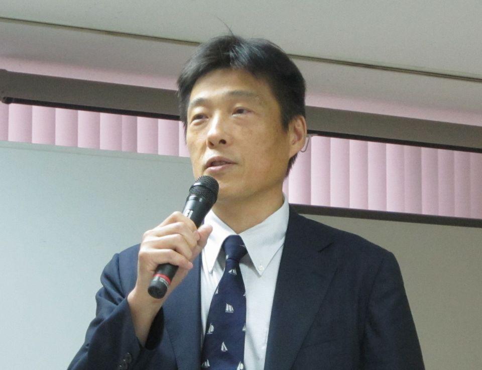 6月21日に記者会見を行った、地域包括ケア病棟協会の仲井培雄会長