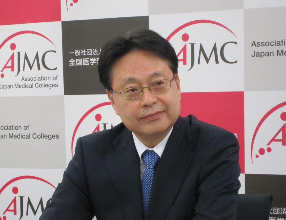 全国医学部長病院長会議の副会長に就任した、愛知医大病院の羽生田正行院長