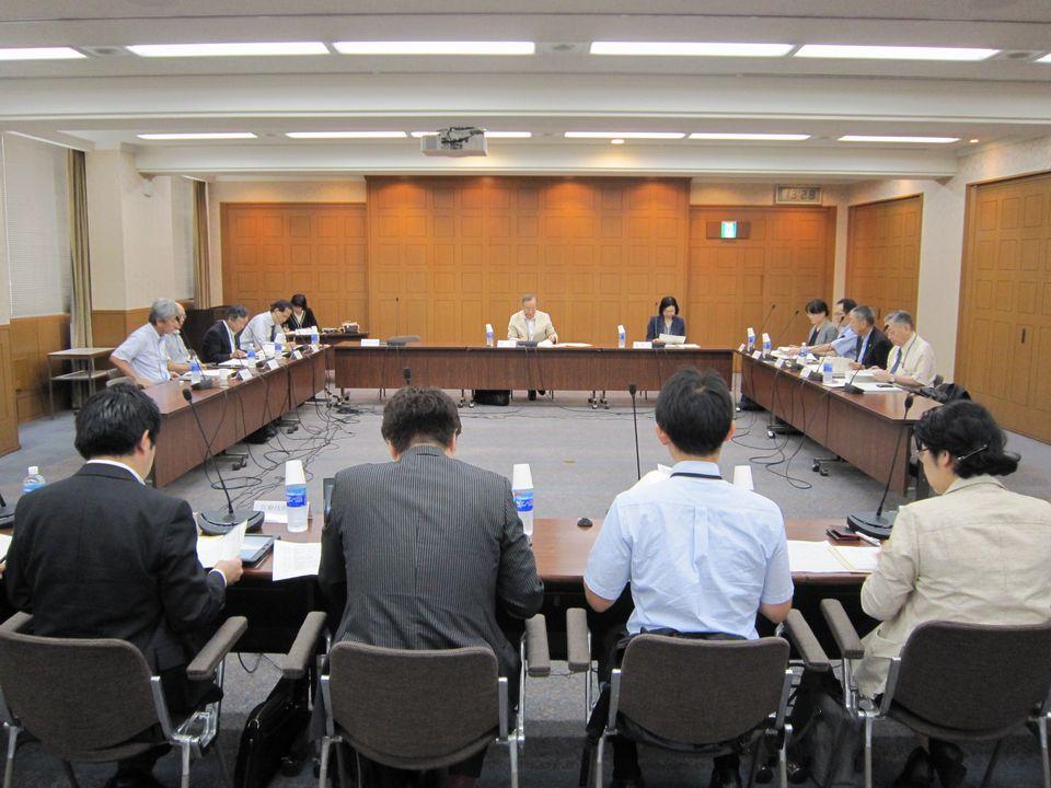 8月23日に開催された、「第10回 患者申出療養評価会議」
