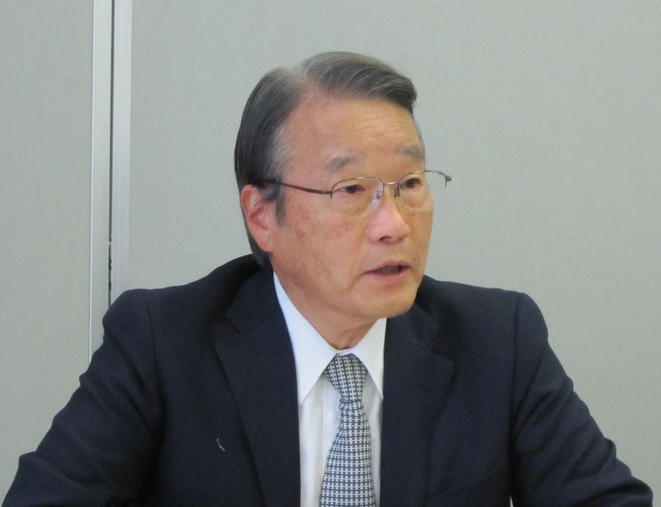 8月27日に記者会見を開き、8月24日の日本専門医機構理事会の模様を説明する寺本民生理事長(帝京大学・臨床研究センター長)