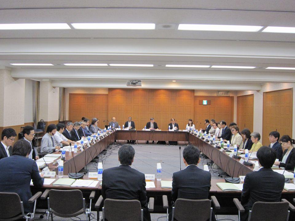8月30日に開催された、「第70回 がん対策推進協議会」