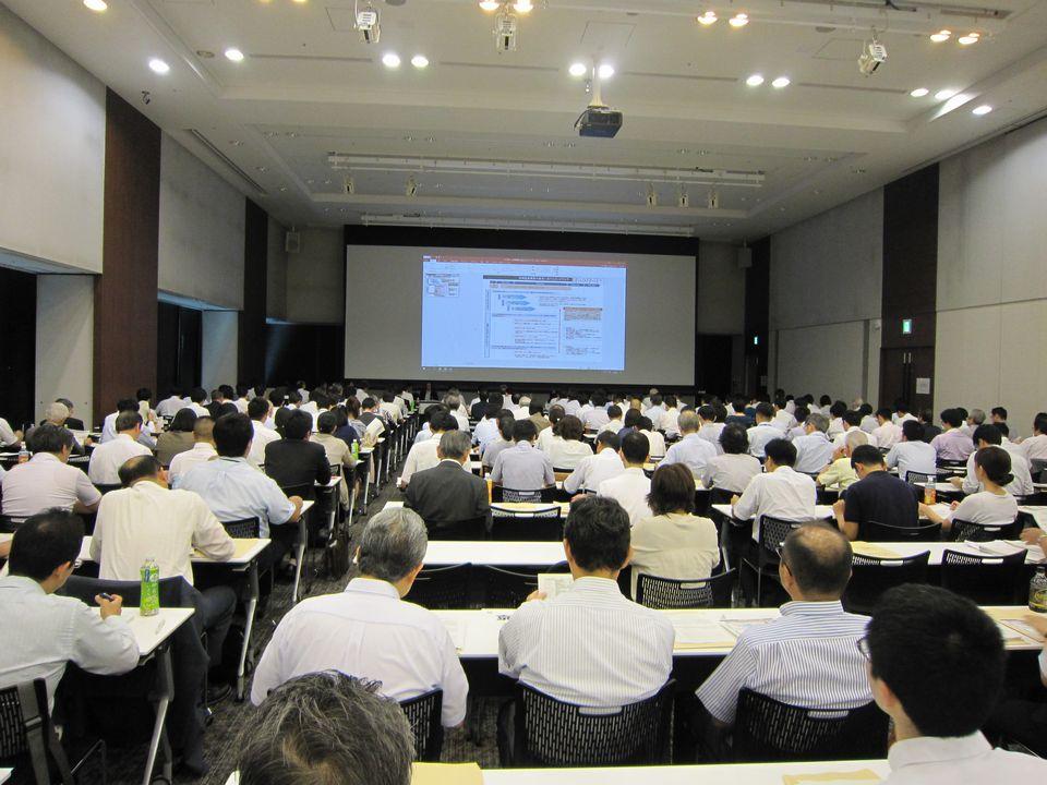 8月31日に開催された、「平成30年度 第2回 医療政策研修会」
