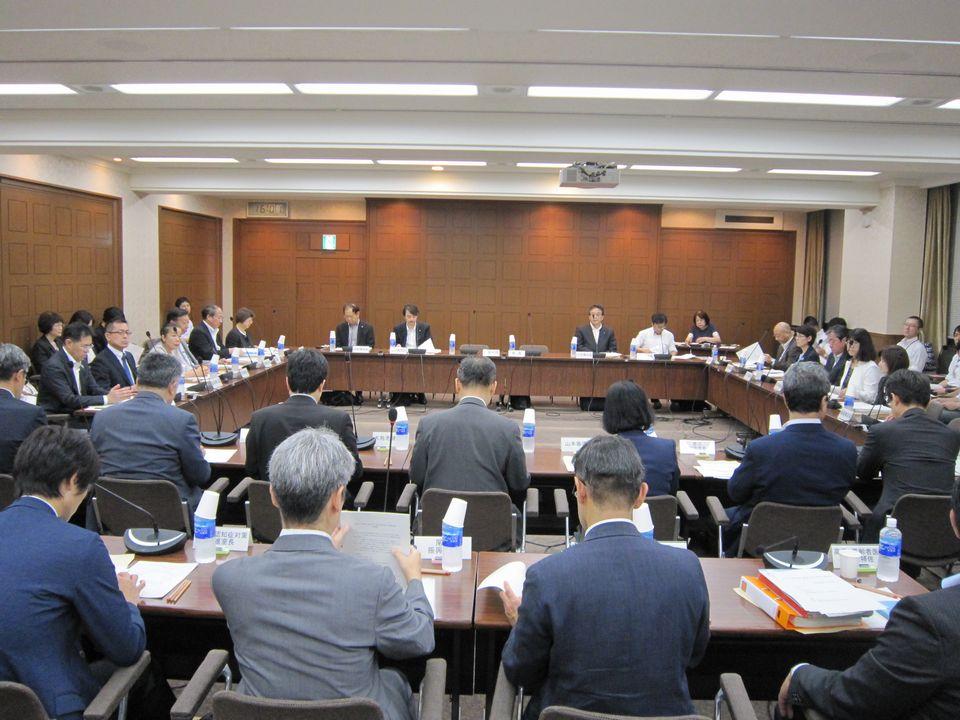 9月6日に開催された、「第1回 高齢者の保健事業と介護予防の一体的な実施に関する有識者会議」