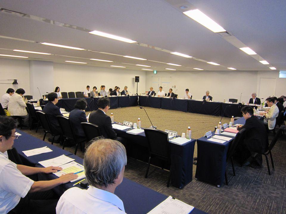 9月10日に開催された、「第6回 在宅医療及び医療・介護連携に関するワーキンググループ」