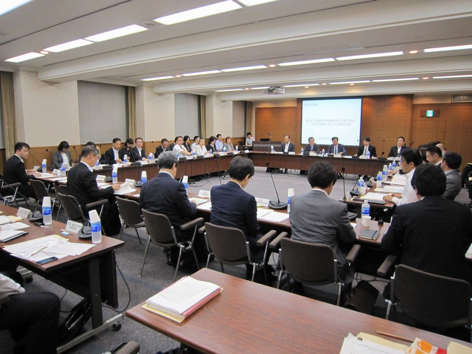 9月20日に開催された、「第2回 高齢者の保健事業と介護予防の一体的な実施に関する有識者会議」