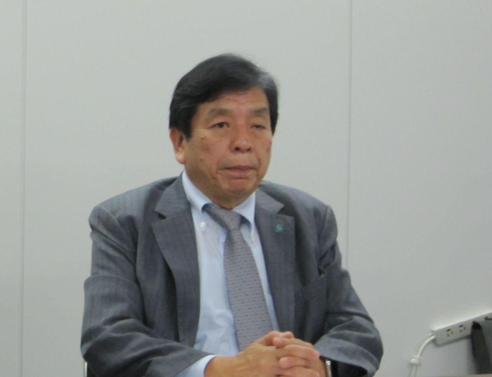9月26日の四病院団体協議会・総合部会後に記者会見に臨んだ日本医療法人協会の加納繁照会長