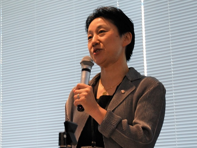 GHCシニアマネジャーの塚越篤子