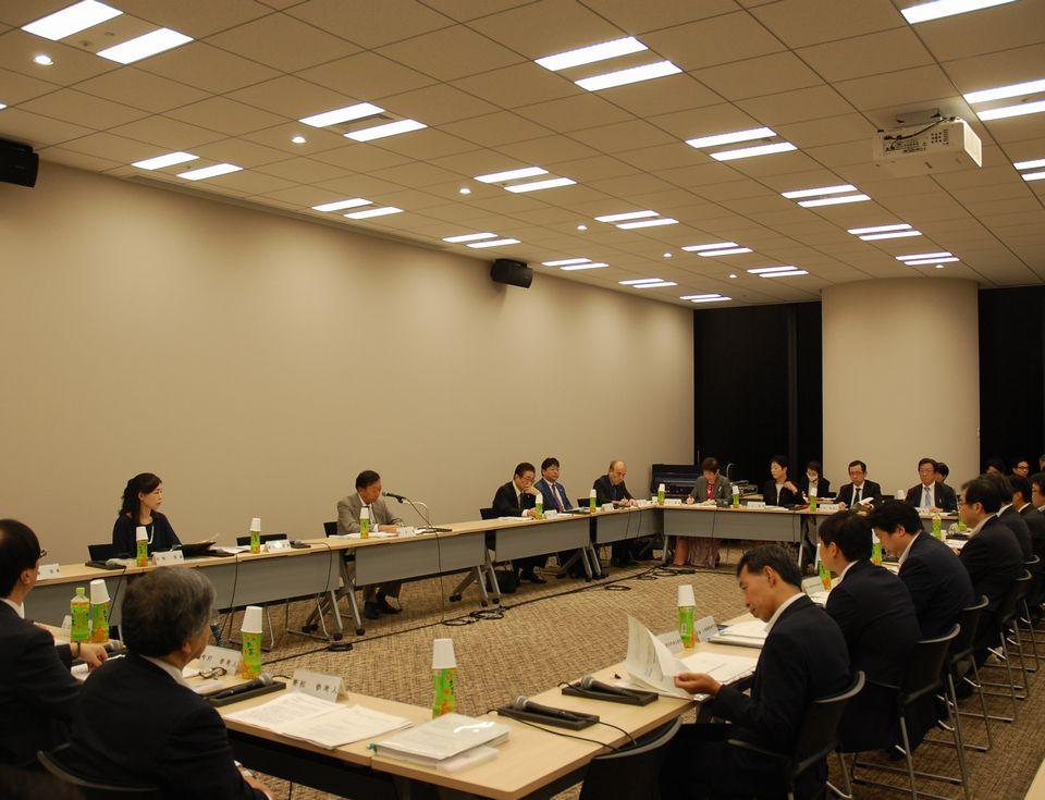9月28日に開催された、「平成30年度 第1回 医道審議会 医師分科会 医師専門研修部会」