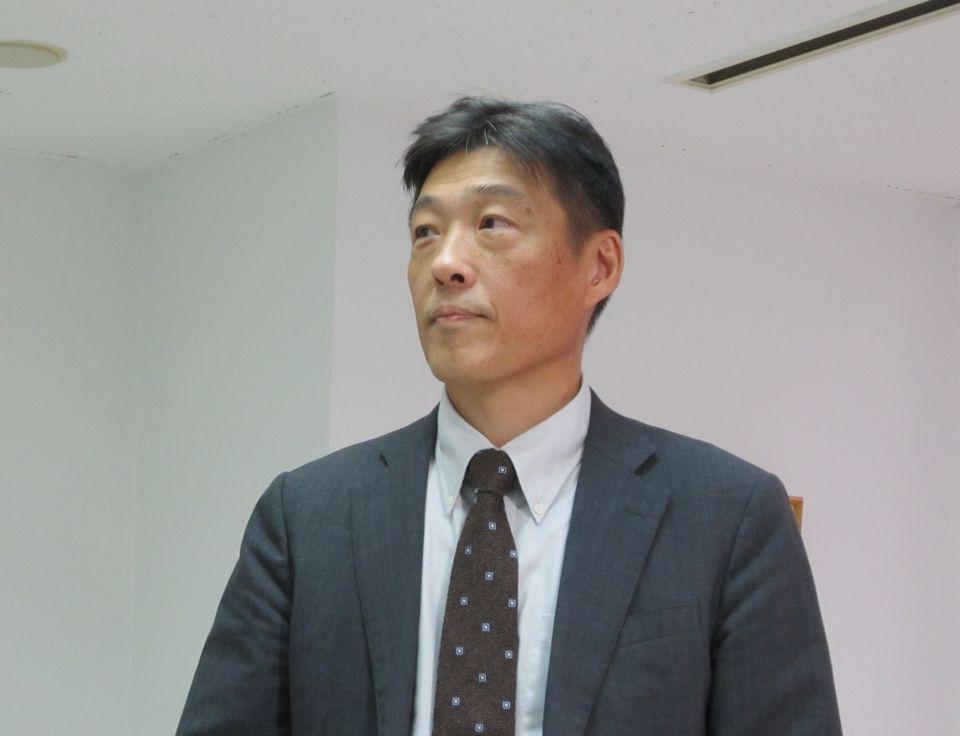10月4日に定例記者会見に臨んだ、地域包括ケア病棟協会の仲井培雄会長