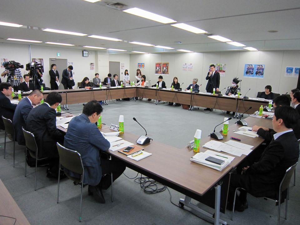 10月5日に開催された、「第1回 上手な医療のかかり方を広めるための懇談会」