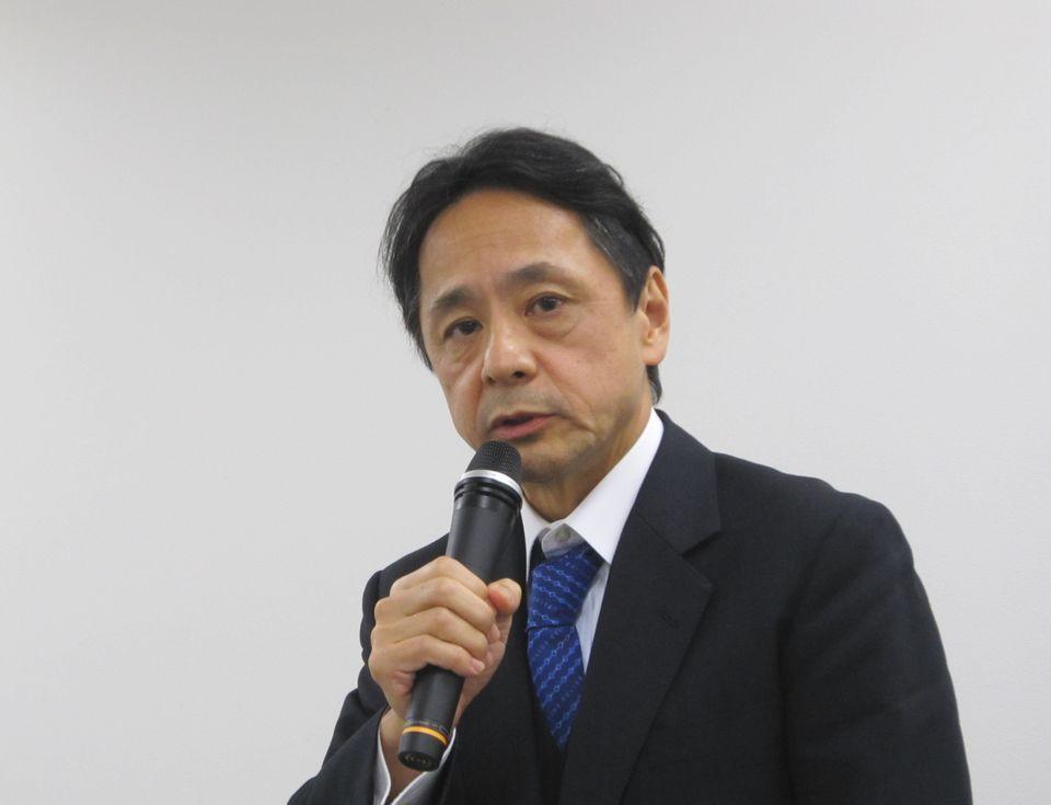 膵がんのロボット手術について展望する九州大学大学院臨床・腫瘍外科の中村雅史教授