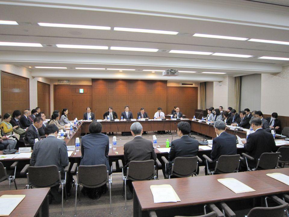 11月22日に開催された、「第5回 高齢者の保健事業と介護予防の一体的な実施に関する有識者会議」