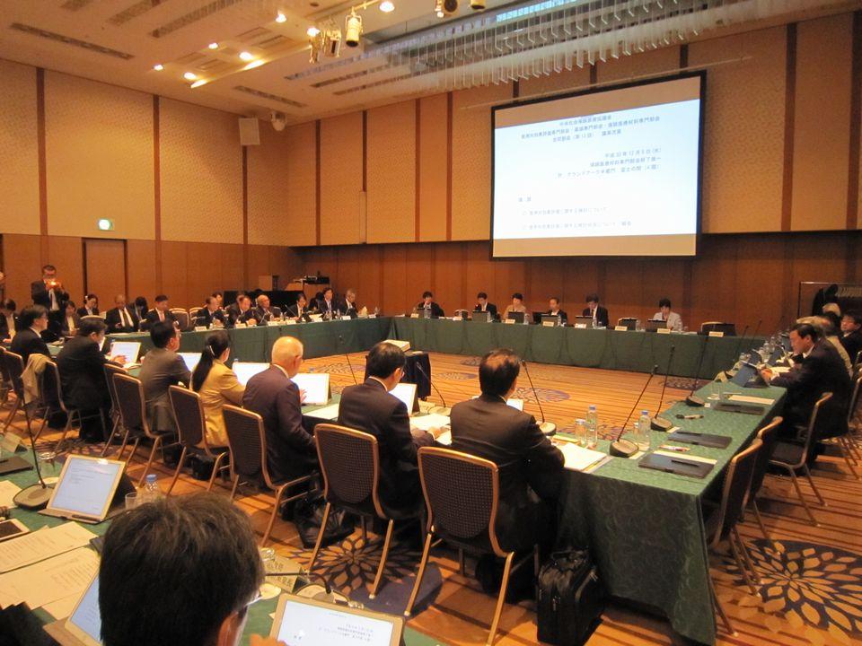 12月5日に開催された、「第13回 中央社会保険医療協議会 費用対効果評価専門部会・薬価専門部会・保険医療材料専門部会 合同部会」