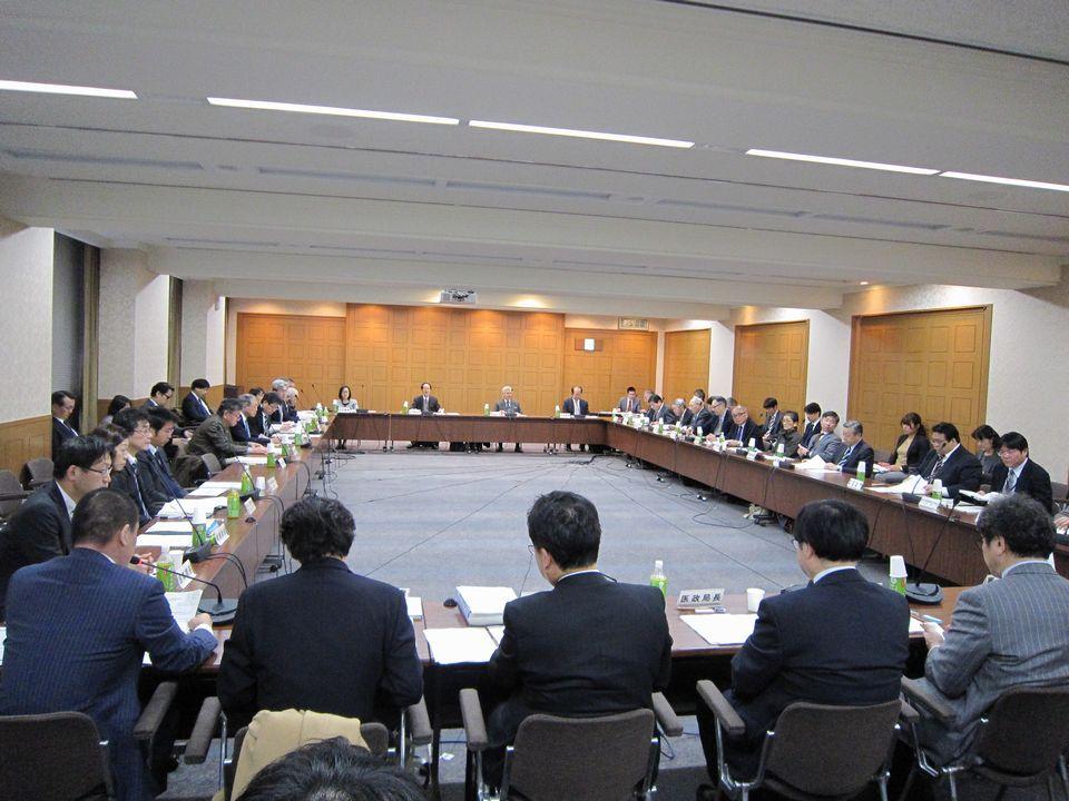 1月17日に開催された、「第65回 社会保障審議会 医療部会」