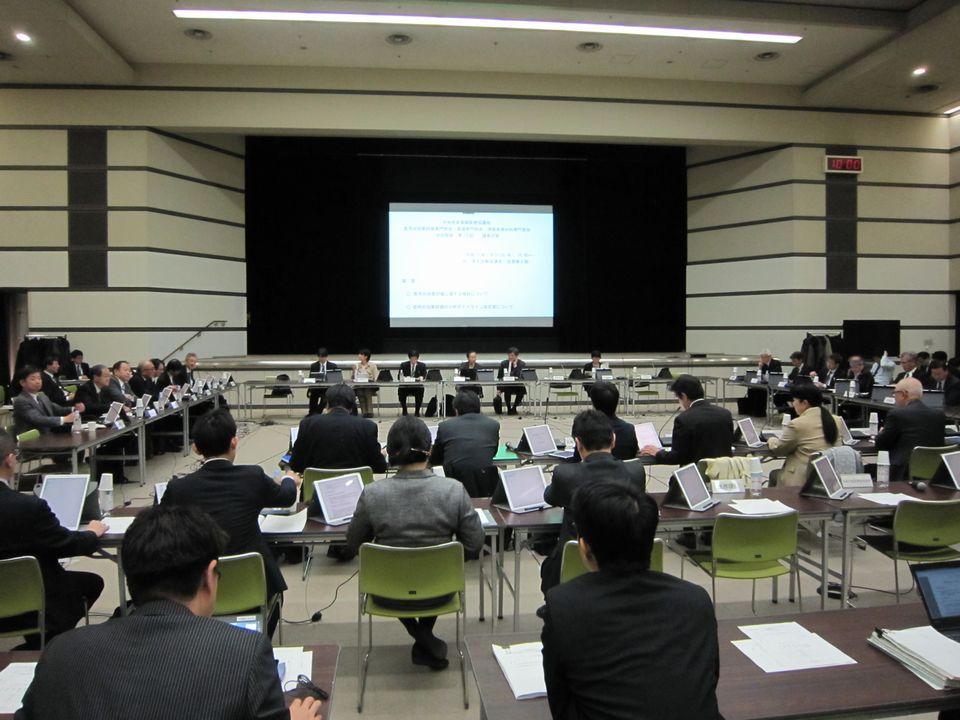 1月23日に開催された、「第15回 中央社会保険医療協議会 費用対効果評価専門部会・薬価専門部会・保険医療材料専門部会 合同部会」