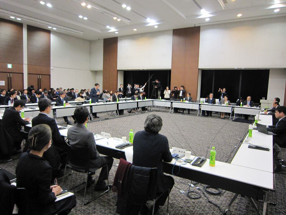 1月23日に開催された、「平成30年度 第1回 オンライン診療の適切な実施に関する指針の見直しに関する検討会」