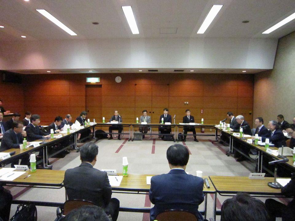 1月25日に開催された、「地域医療連携推進法人連絡会議」
