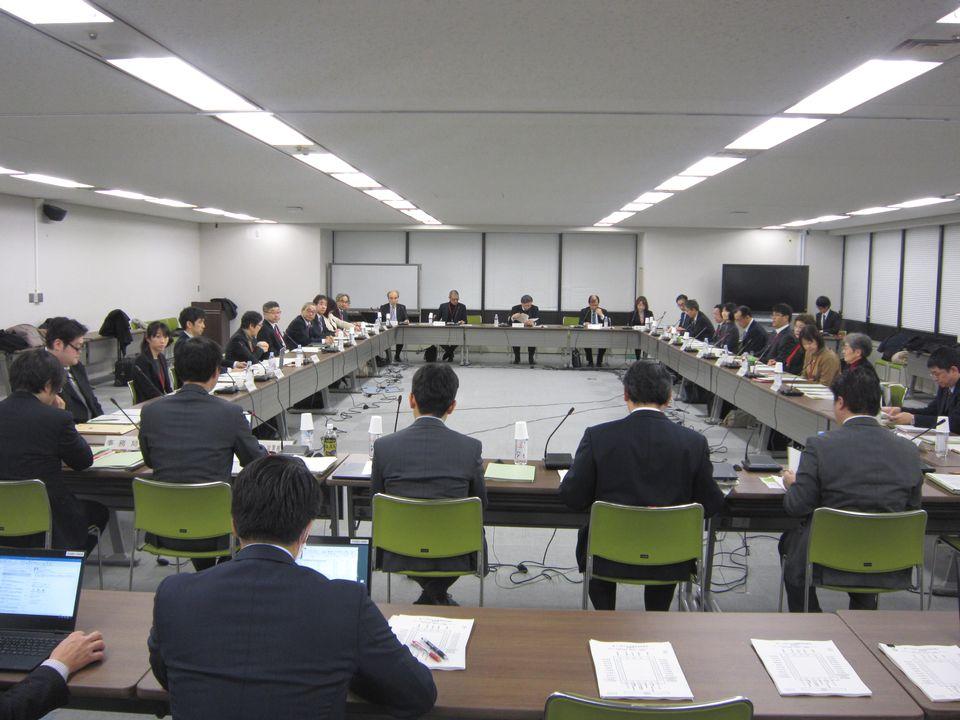 1月31日に開催された、「第72回 がん対策推進協議会」